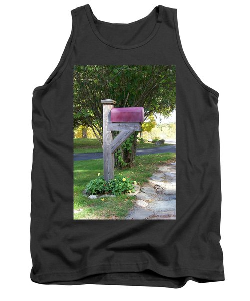 Tank Top featuring the digital art Got Mail by Barbara S Nickerson