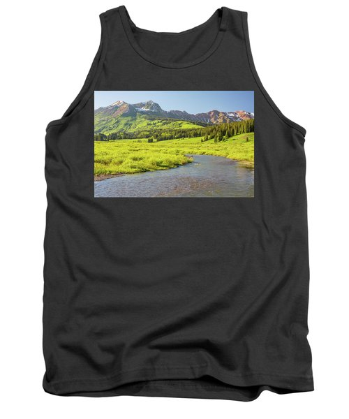 Gothic Valley - Early Evening Tank Top by Eric Glaser