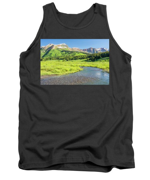 Tank Top featuring the photograph Gothic Valley - Morning by Eric Glaser
