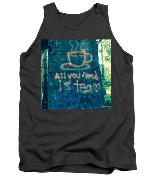 Graffitea Time Tank Top