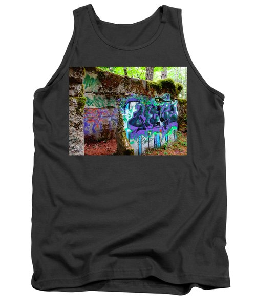 Graffiti Illusion Tank Top