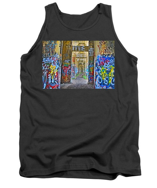 Grafiti Bridge To Nowhere Tank Top