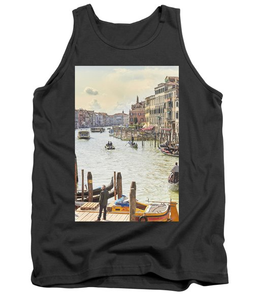 Grand Canal - The Most Famous Canal In Venice Tank Top