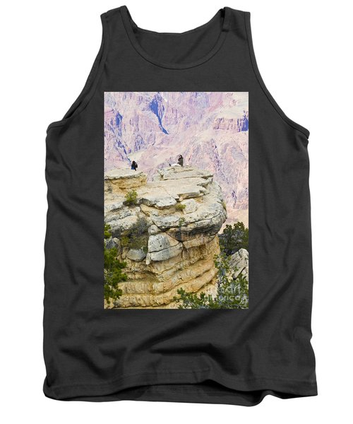 Tank Top featuring the photograph Grand Canyon Photo Op by Chris Dutton