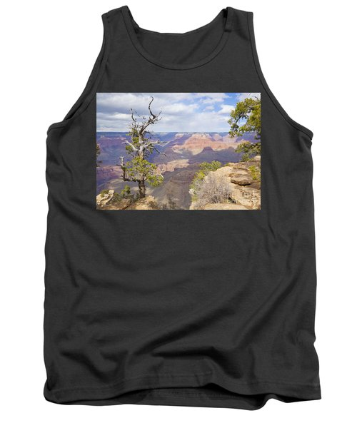 Tank Top featuring the photograph Grand Canyon View by Chris Dutton