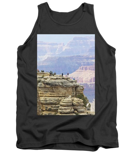 Tank Top featuring the photograph Grand Canyon Vista by Chris Dutton