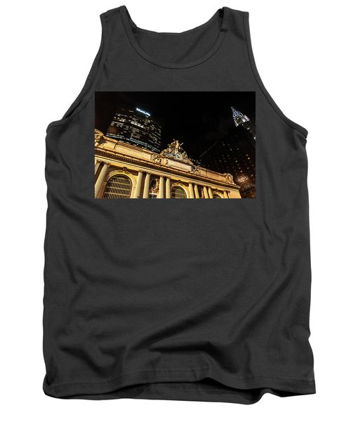 Grand Central Nocturne Tank Top by Steven Richman