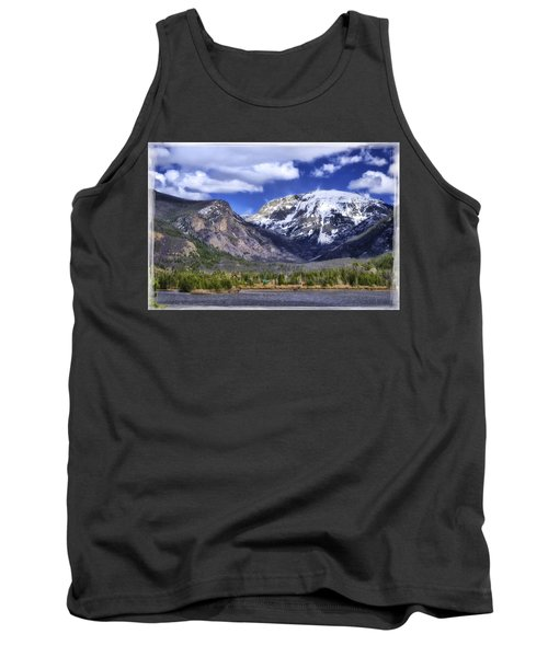 Tank Top featuring the photograph Grand Lake Co by Joan Carroll