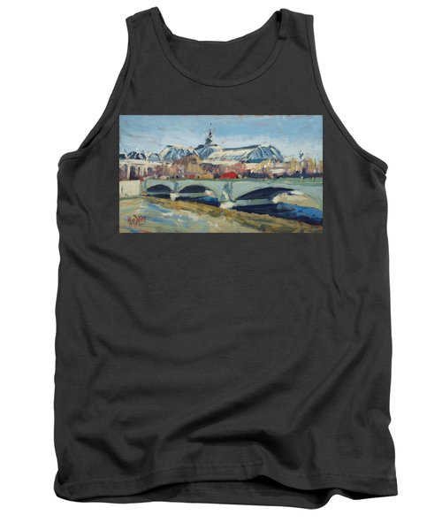 Grand Palace In Winter Paris Tank Top