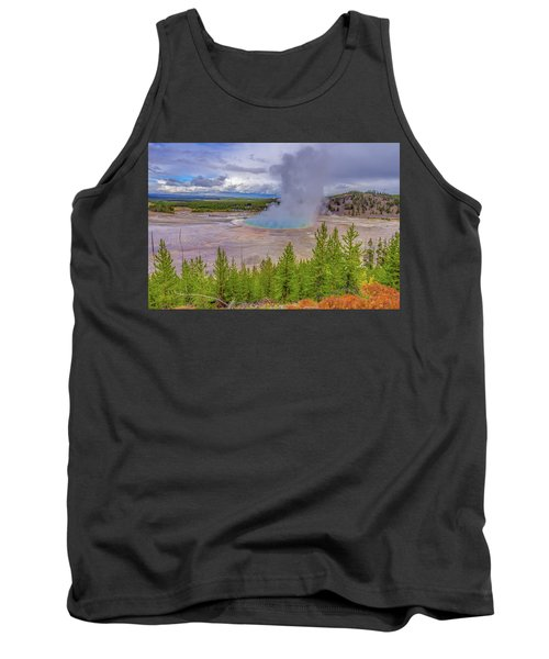 Grand Prismatic Spring Overlook Yellowstone Tank Top