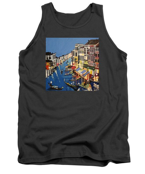 Grande Canal Tank Top by Donna Blossom