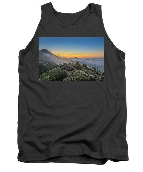 Grandfather Mountain Sunrise Tank Top
