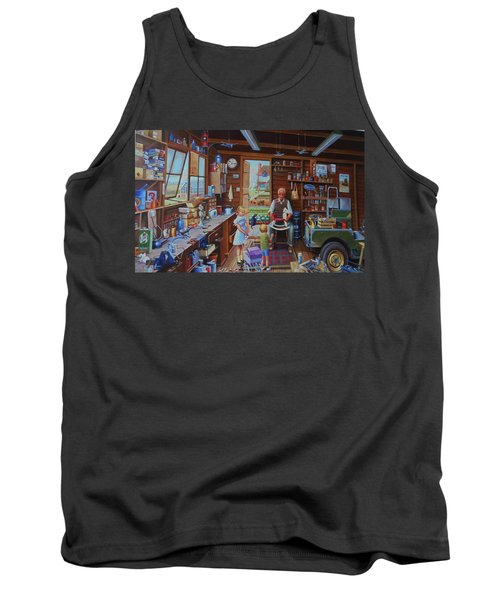 Grandpa's Workshop. Tank Top
