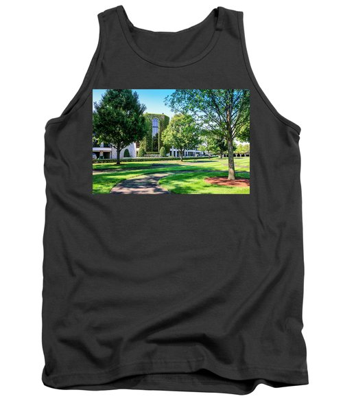 Grandstand At Keeneland Ky Tank Top by Chris Smith