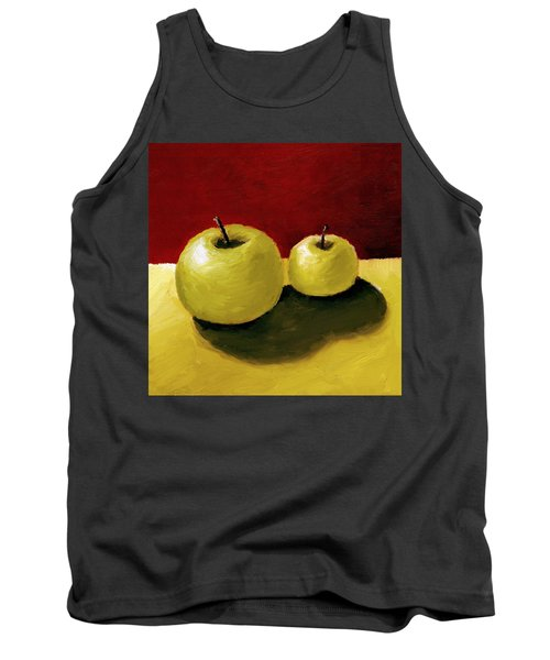 Granny Smith Apples Tank Top by Michelle Calkins