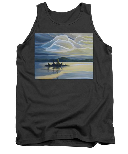 Grape Island Tank Top