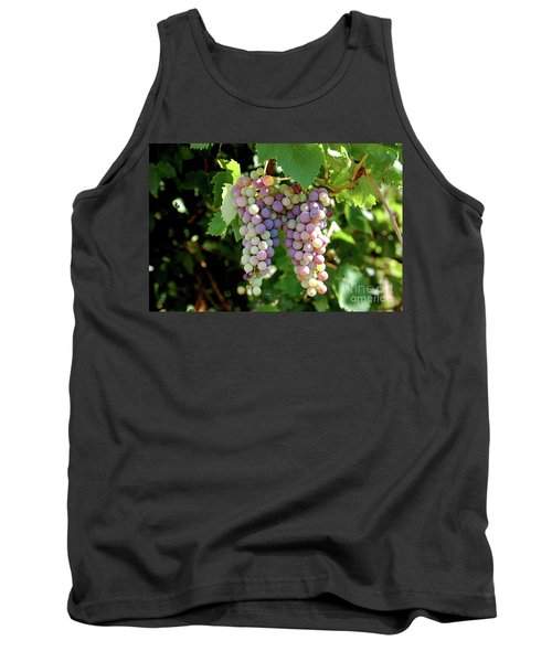 Grapes In Color  Tank Top