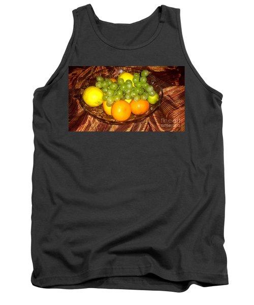 Grapes, Lemons, Mandarins And Lime  Tank Top