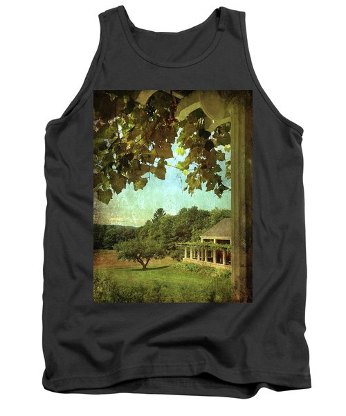 Grapes On Arbor  Tank Top