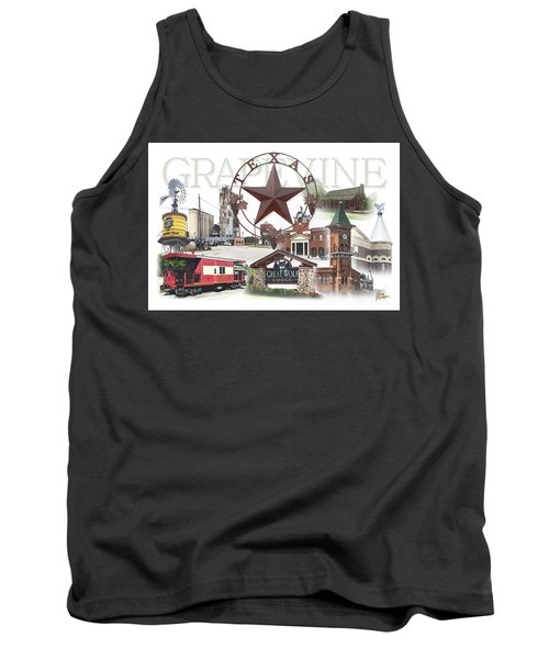 Grapevine Texas Tank Top by Doug Kreuger