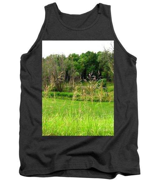 Swaying Grass Tank Top