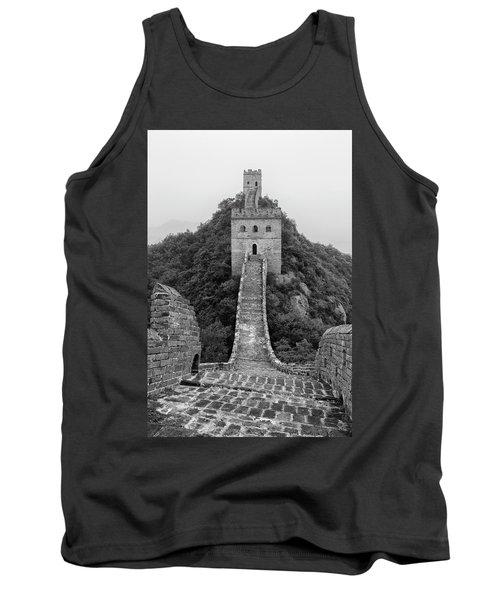 Tank Top featuring the photograph Great Wall 1, Jinshanling, 2016 by Hitendra SINKAR