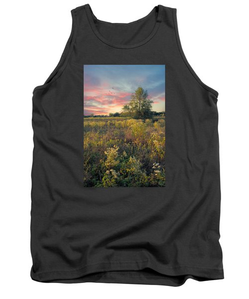 Grateful For The Day Tank Top by John Rivera