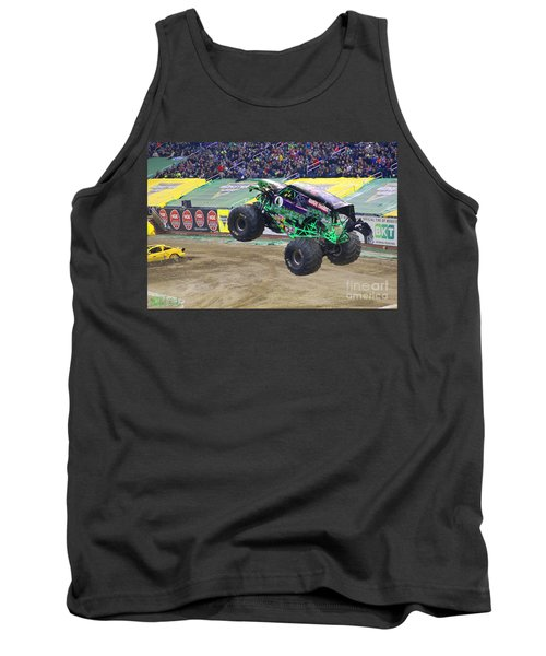Grave Digger  Tank Top by Michael Rucker