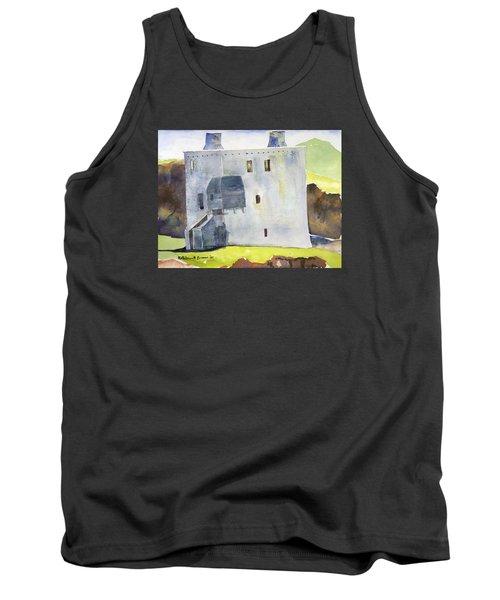 Gray Castle Tank Top