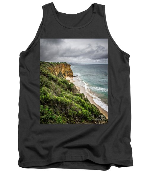 Tank Top featuring the photograph Gray Skies by Perry Webster