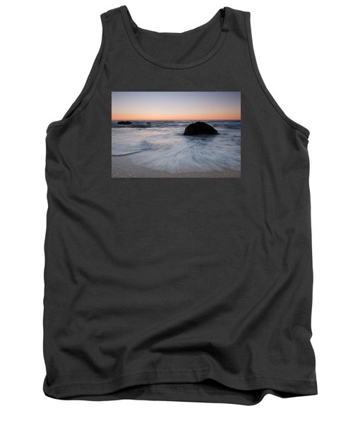 Gray Whale Cove State Beach Tank Top by Catherine Lau