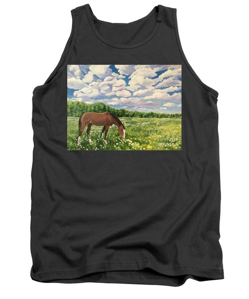 Grazing Among The Daisies Tank Top