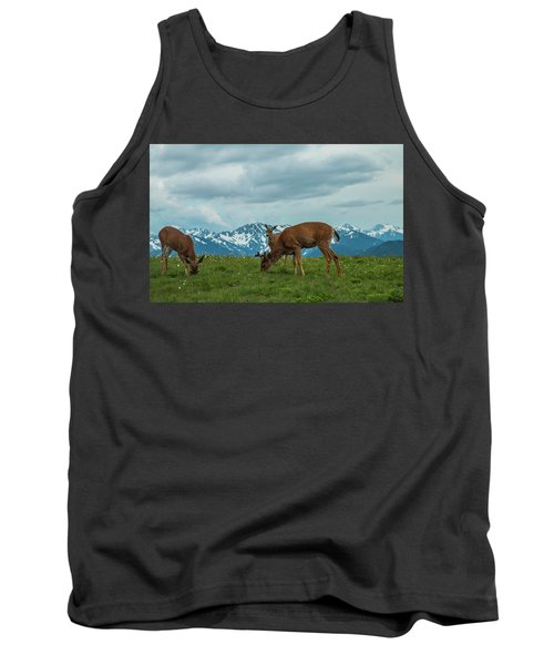 Grazing In The Clouds Tank Top