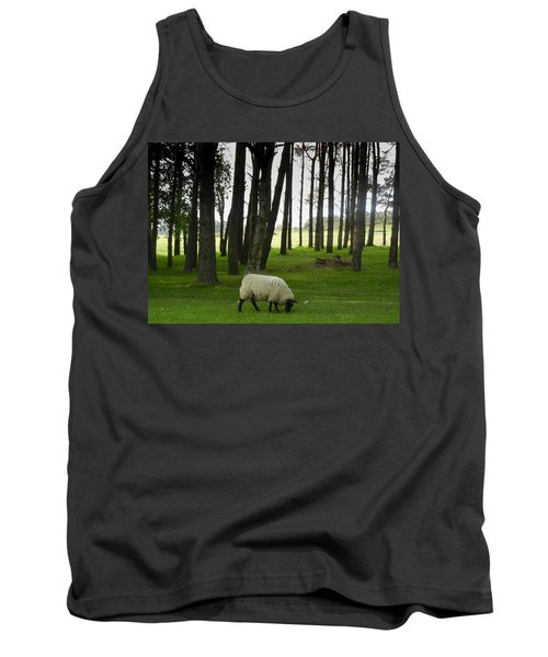 Grazing In The Woods Tank Top
