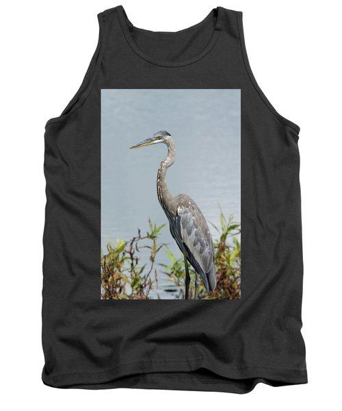 Great Blue Heron #2 Tank Top