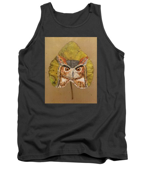 Great Horned Owl Tank Top by Ralph Root