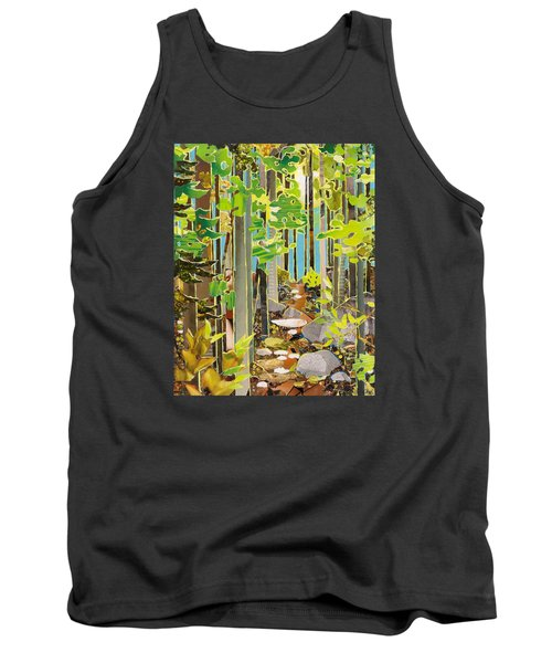 Great Maine Woods Tank Top by Robin Birrell