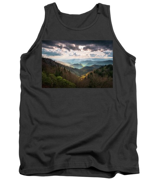 Great Smoky Mountains National Park North Carolina Scenic Landscape Tank Top