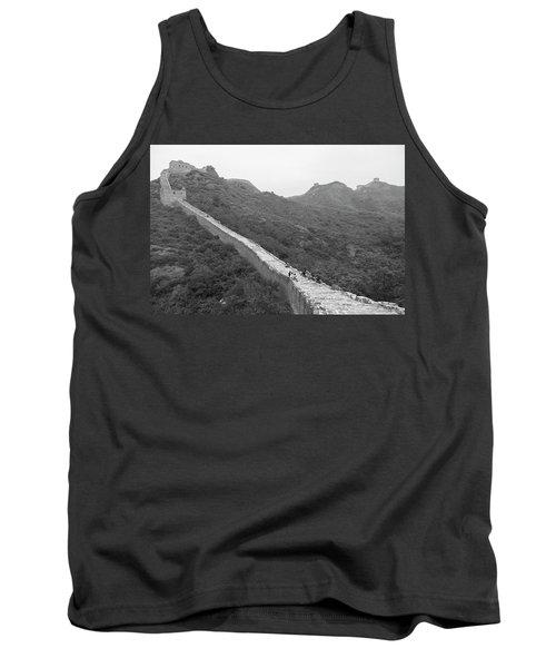 Tank Top featuring the photograph Great Wall 4, Jinshanling, 2016 by Hitendra SINKAR