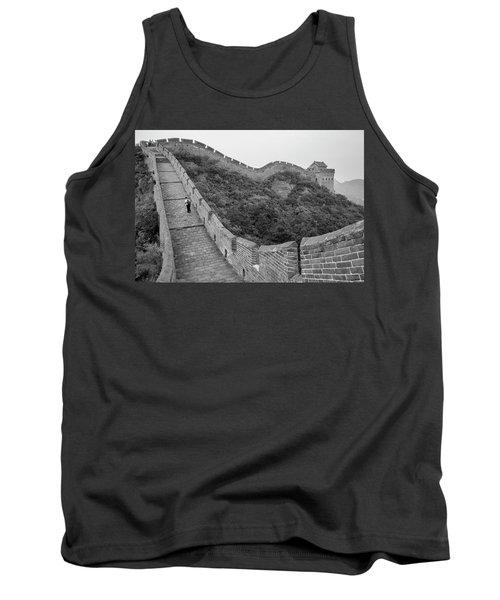 Tank Top featuring the photograph Great Wall 9, Jinshanling, 2016 by Hitendra SINKAR