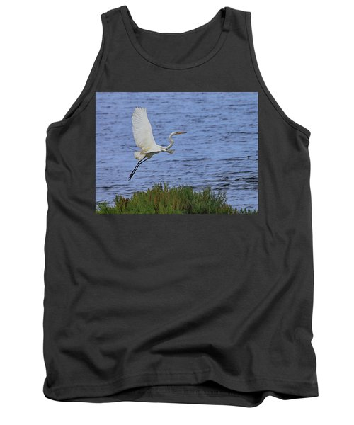 Great White Egret Tank Top
