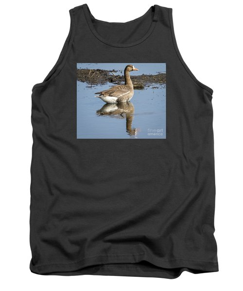Tank Top featuring the photograph Great White Fronted Goose by Ricky L Jones
