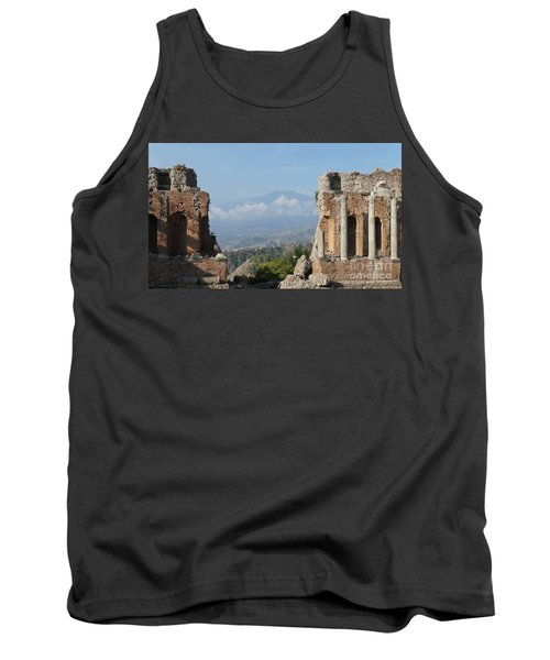 Greek Theatre Taormina Tank Top