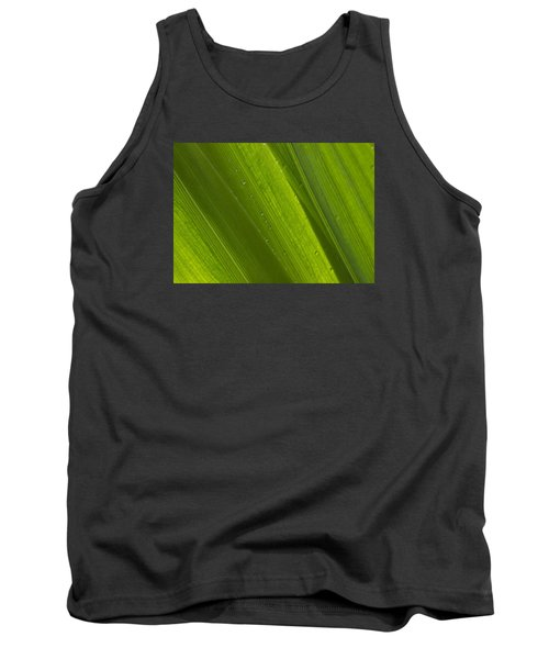 Green Abstract 2 Tank Top