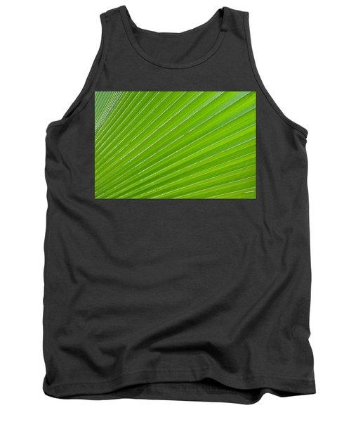 Green Abstract No. 1 Tank Top