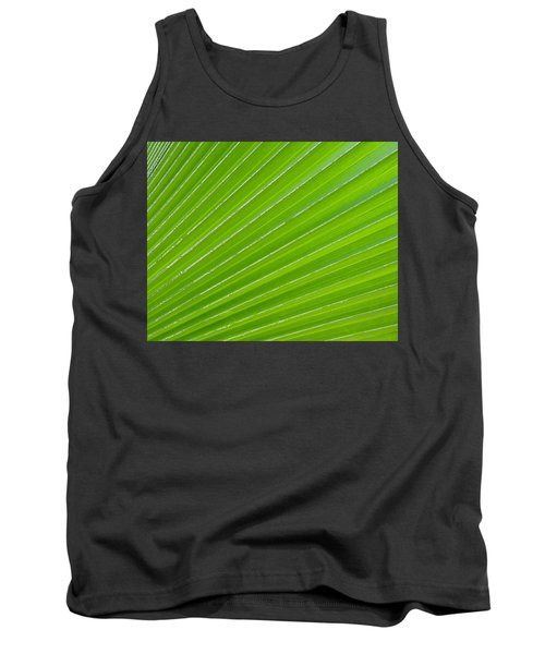 Green Abstract No. 1 Tank Top
