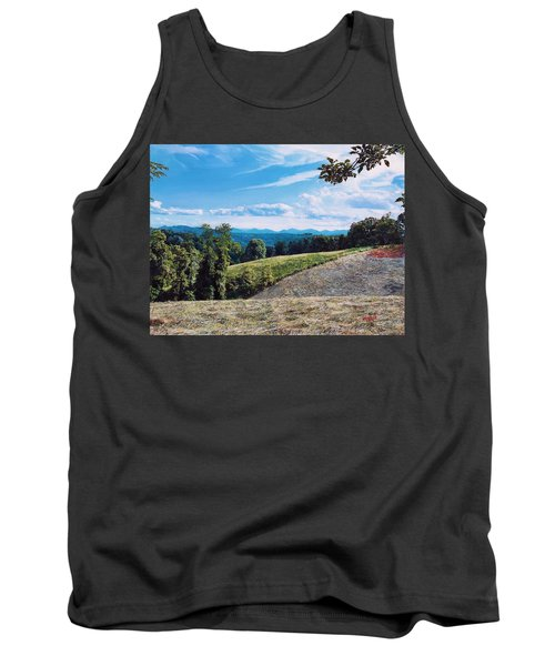 Green Country Tank Top