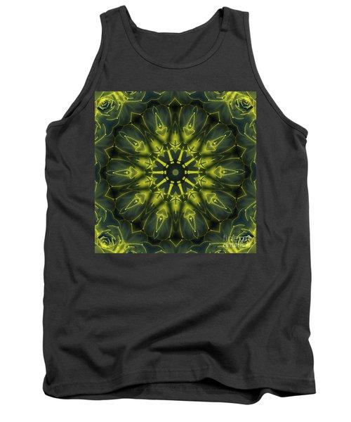 Succulent Mandala Tank Top