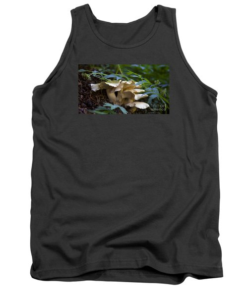 Green Forest Floor Tank Top