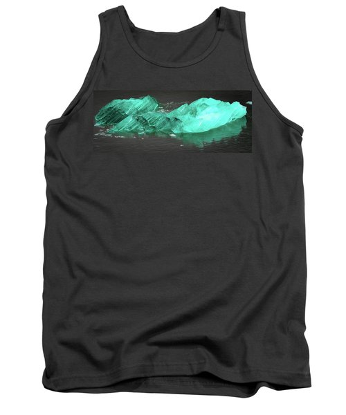 Green Iceberg Tank Top